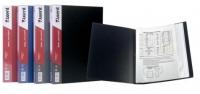 Папка А4 с 30 файлами черная 1030-01-А
