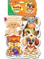 Пазлы Baby puzzle Домаш.любимцы VT1106-07 Дом книги