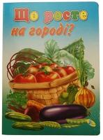 Книга А5 Что ростет на огороде? укр 95770 Кредо