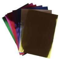 Бумага цветная А4 10л металлизированная 9-79 (22224)