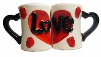 """Чашка """"Love"""" цена за набор (8-434)"""