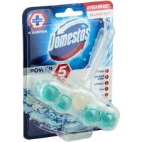 Блок для унитаза Domestos Power 5 кристальная чистота 55 г 94264