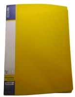 Папка А4 с 10 файлами Economix желтый E30601-05
