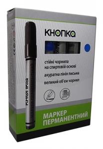 Маркер перманентный синий 30101-KN KNOPKA