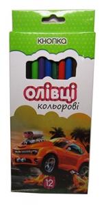 Карандаши цветные KNOPKA 12шт Эконом 20101-KN  55602-KN
