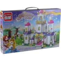 """Конструктор """"Brick"""" 2610 Princess (9шт) 507дет. 6+лет в кор. 52*34*6,5см 7 toys"""