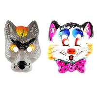 Карнавальная маска детская в ассортименте 6-150 (2053) Цена за 1 шт