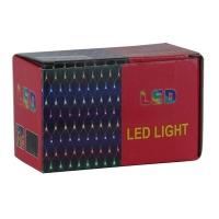 Гирлянда электрическая цветная 120л LED  шторка 5-256 6-175 (6366)