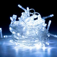 Гирлянда электрическая цветная 100л LED 5-257 6-176 (6366)