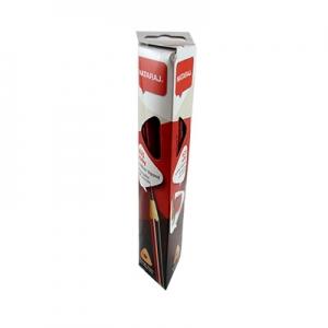 Карандаш чернографитный Nataraj 621 Ruby HB заостренный 12 шт с резинкой и точилкой 201151043