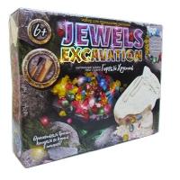 Набор для проведения раскопок JEWELS EXCAVATION камни рус JEX-01-01