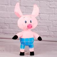 Мягкая игрушка Свинья в одежде 21300-1