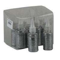 Блестки в бутылочке серебро 3-245 (24713)