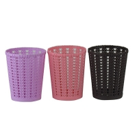 Стакан для ручек пластик ажур 3-257 5-915 (23584)
