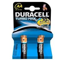 Батарейка пальчик DURACELL Turbo 1*2 LR6 MХ1500 цена за 1шт