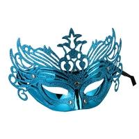 Венецианская маска кружевная глиттер 6-148 (2053) Цена за 1 шт
