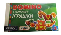 "Домино ""Игрушки"" в коробке 35,5*20*3см 677"