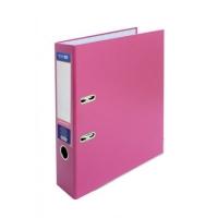 Папка регистратор А4 Economix 50 мм розовая собранная Е39720-09