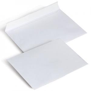 Конверт почтовый С6 белый склееный 75 114*162мм (1040)