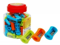 Точилка пластик 70шт в банке 52605-TK цена за шт