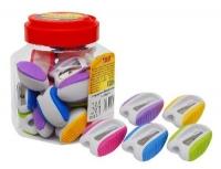 Точилка пластик 30шт в банке 52609-TK цена за шт