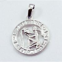 Кулон Знак Зодиака Водолей серебро 1-210-8 Куты Назар