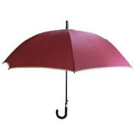 Зонтик-трость большой однотонный 10-658 (1169)