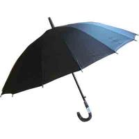 Зонтик-трость мужской черный 10-659 (1169)