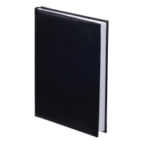 Ежедневник А6 датированный CARIN черный Е21642-01
