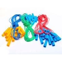 Скакалка резиновая цветная 2,4м М.toys S0002
