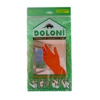 Перчатки латексные универсальные S DOLONI 4544