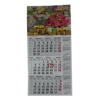 Календарь квартальный символ года Крысы 2020 3в1 микс КБ-02,03,05,06,07,08