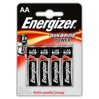 Батарейка пальчик Energizer alkalint power АА цена за 1шт R-6