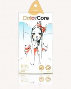Карандаши цветные 12шт шестигранные+1 графитный Color Core MARCO 3130-12CB