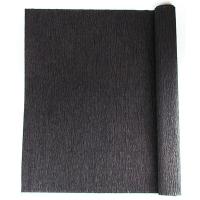 Гофрированная бумага черная 110% 3-233 (22224)