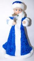 Новогодняя фигура Снегурочка музыкальная 613-13