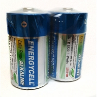 Батарейка лужна Energycell 1.5V LR20 S2 D Цена за шт