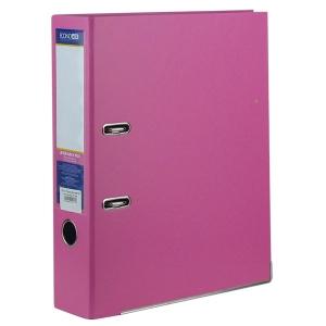 Папка регистратор А4 Economix 70 мм розовая собранная Е39721-09