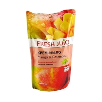 Мыло жидкое Fresh Juise Mango&Carambola 460мл 3364
