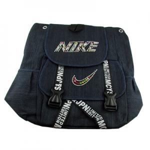Рюкзак тканевый NIKE стразы 1-235 (12381)
