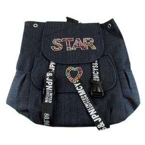 Рюкзак тканевый STAR с бусинками 1-236 (12381)