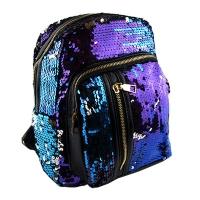 Рюкзак с паетками разноцветными арт.1-250   1-250 (12234)