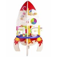 "Игрушка развивающая Classic World ""Развивающий центр"" (Ракета) 4121 Соболев"