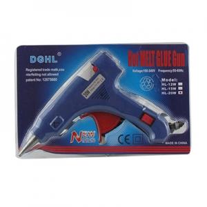 Клей пистолет маленький модель HL-20W DGHL 3К-Q506  6-340 3-364  (24617)