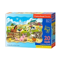 Пазлы Castorland ферма  20 эл maxi С-02429