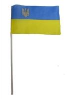 Флаг Украины демонстрационный малый