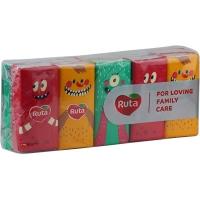 Платки носовые Ruta Monsters 10*10 3шары без аромата h9202
