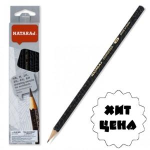 Набор карандашей чернографитных Nataraj Architect mix заостренный 6 шт  201219003