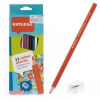 Карандаши цветные 12шт с точилкой Nataraj 201250002