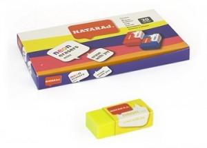 Ластик Nataraj Neon Mini 20шт в уп цена за шт 202311001